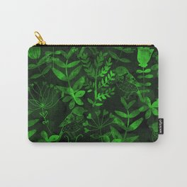 Abstract Botanical Garden IV Carry-All Pouch