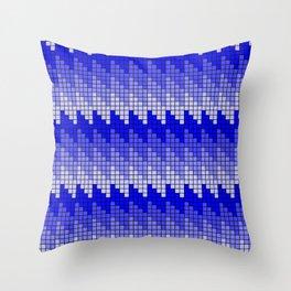 KALAIDASCOPE 2 BLUE Throw Pillow