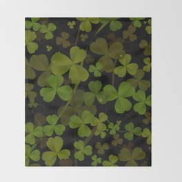 Saint Patrick's Throw Blanket
