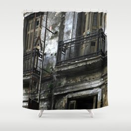 Piraeus I Shower Curtain