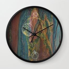 The Perennial Climax (Echo From the Cave) Wall Clock