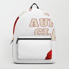Auntie Claus Personalised Gift Family Backpack