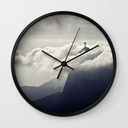 Cristo Redentor Wall Clock