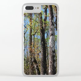 Cypress Poem Clear iPhone Case
