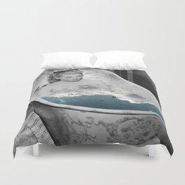 Birdy bath Duvet Cover