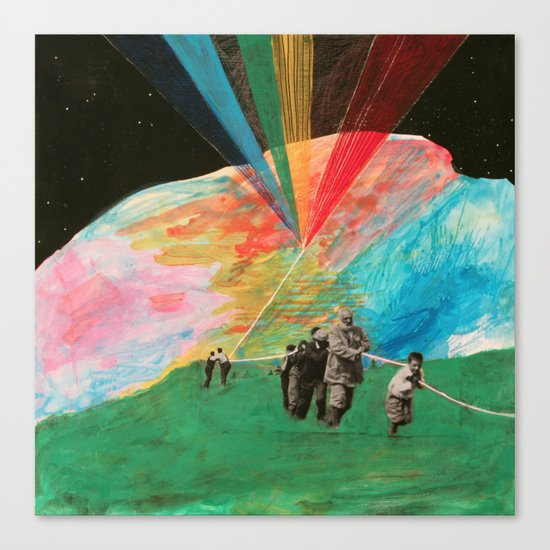 Universe Kite Canvas Print