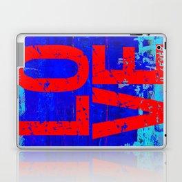 LOVE U 4EVER Blue Laptop & iPad Skin