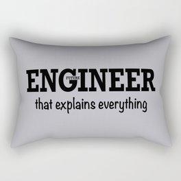 Future Engineer Rectangular Pillow