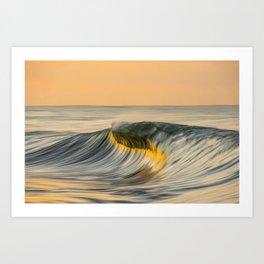 South Island Oil Art Print