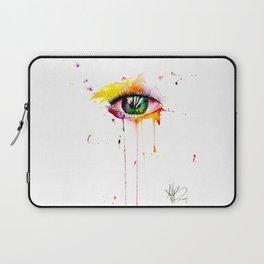 watercolor eye Laptop Sleeve
