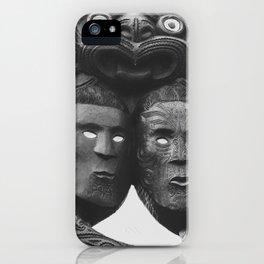 Maori Tribal Totem iPhone Case