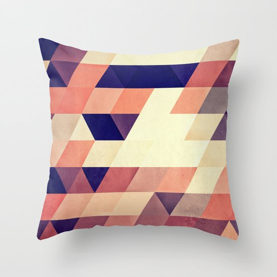 TRYYNGL MYX Throw Pillow