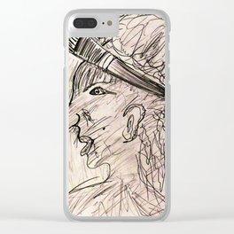 pintora Clear iPhone Case