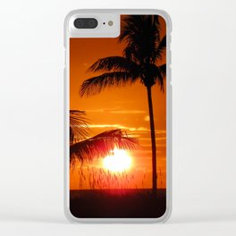 Beautiful Sunset II Clear iPhone Case