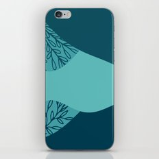 Ocean and teal iPhone & iPod Skin