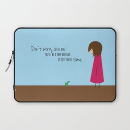 Don't Worry Little One Laptop Sleeve