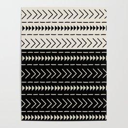 Mudcloth Colorblock Poster