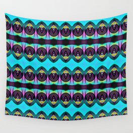 BLACK AND BRIGHT Wall Tapestry