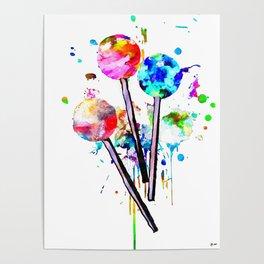 Lollipops Poster