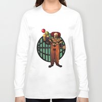 pennywise Long Sleeve T-shirts featuring Pennywise by Monsterinbox