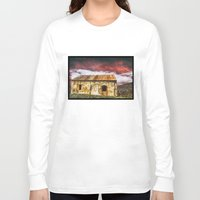 broken Long Sleeve T-shirts featuring Broken by SpaceFrogDesigns