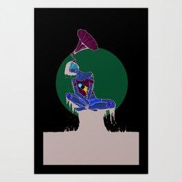 Tuned In Art Print