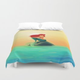 Beauty Mermaid Duvet Cover