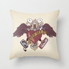 STEP OFF! Throw Pillow