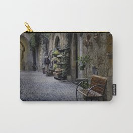 Woman Watering Flowers, Orvieto, Italy Carry-All Pouch