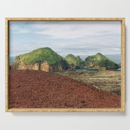 The Westman Islands, Iceland Serving Tray