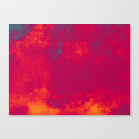 Red as Passion Canvas Print