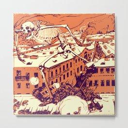 Bugaboo of Revolution Metal Print