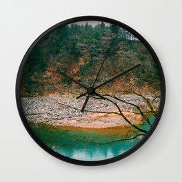 Island of Autumn Wall Clock