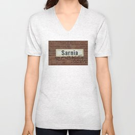 SarniaRocks.com Unisex V-Neck