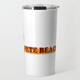 St Pete's Beach - Florida. Travel Mug