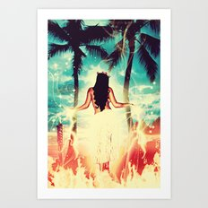 Hawaiian Pele Art Print