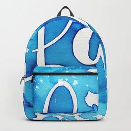 FAITH watercolor Backpack