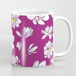 Magnolia Raspberry Coffee Mug