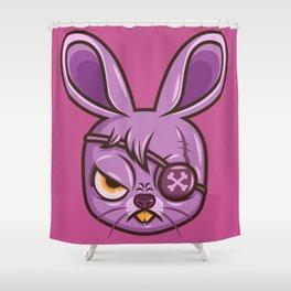 Bada$$ Bunny Shower Curtain