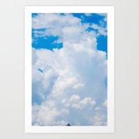 Cloudscapes II Art Print