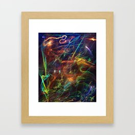 Tempest Framed Art Print