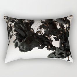 Ink Drop Rectangular Pillow
