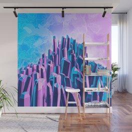 Crystal Peak Wall Mural