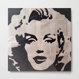 Ms Monroe #3 Metal Print
