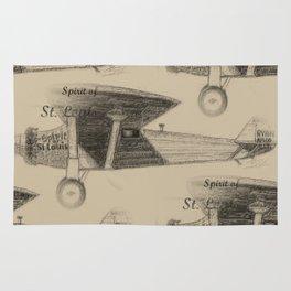 Spirit of St. Louis, 1927 Rug