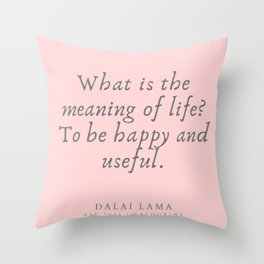 126 | Dalai Lama Quotes 190504 Throw Pillow