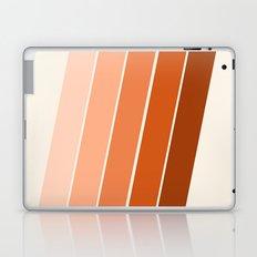The Skinney - 70's abstract minimal stripe striped pattern retro throwback 1970s art decor Laptop & iPad Skin