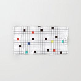 Crossword Puzzle #GraphicDesign #Minimalism Hand & Bath Towel