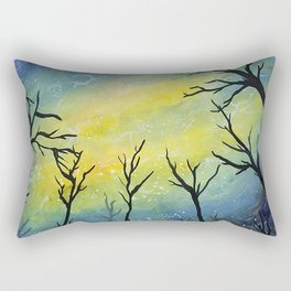 Excited electrons and magnetic fields Rectangular Pillow