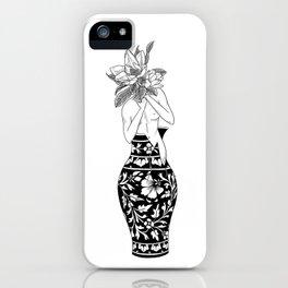Flower Girl: Magnolia iPhone Case